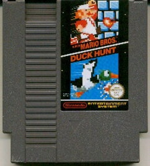 This is the way most people remember Duck Hunt - as a random game slapped on next to Super Mario Brothers - and one that got fairly boring in 5-10 minutes. People who didn't have a Nintendo yet always thought it was cooler than it really was.