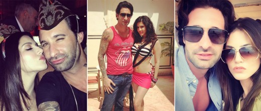 We got our hands on some of Sunny Leone's photos with her husband Daniel Weber. View pics here on Biscoot Showtym