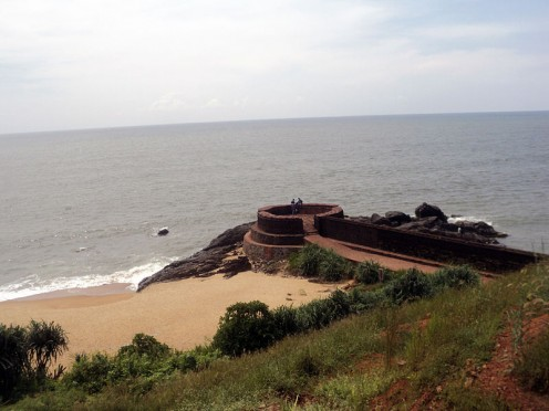 How to describe this beauty! A view of Bekal Fort