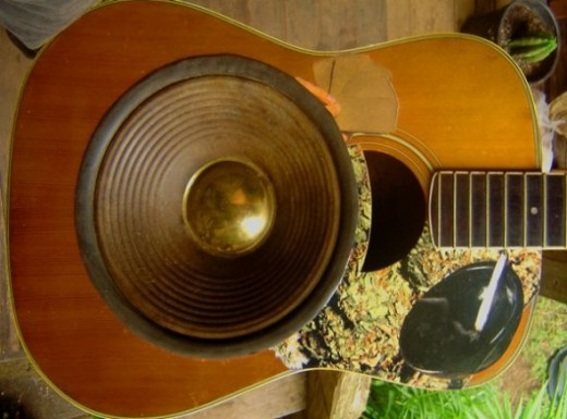 Another resonator under construction (this one is finished/sold)