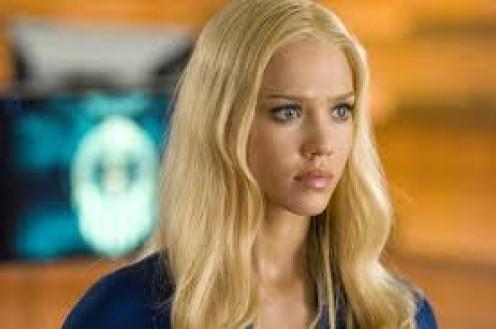 Jessica Alba as Sue Storm in Fantastic Four movie