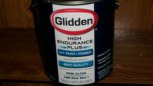 This is the best paint I have ever used, it covers dark colors with one coat.