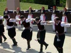 Greek Folk Dancing Image Credit: http://www.greeksongs-greekmusic.com/greek-folk-music-greek-folk-songs/
