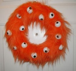 Monster Fur Wreath