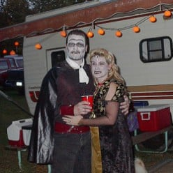 Campground Halloween - A Summer Tradition
