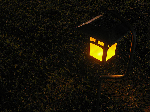 Solar Garden Light (image courtesy of jscheib on Flickr Creative Commons)