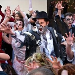 Thrill The World: Zombies Worldwide Dance Michael Jackson's Thriller