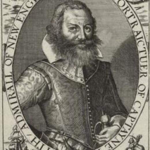 Captain and Explorer John Smith
