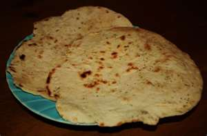 Chapatis (Kenyan Wholewheat Flatbread) - which was also kind of bland
