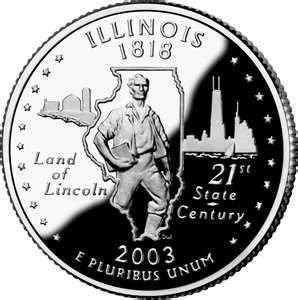 Illinois state quarter