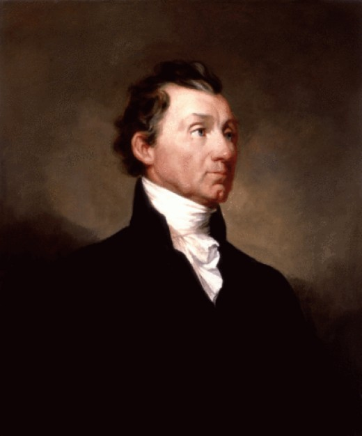 James Monroe White House portrait 1819