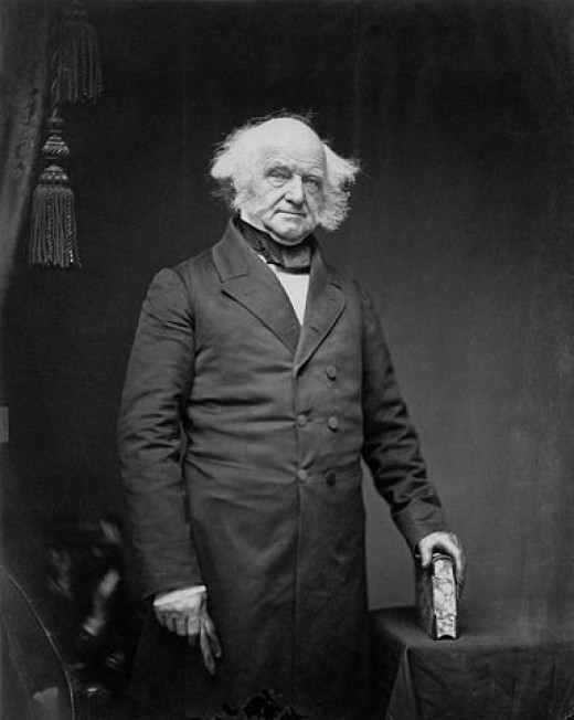Imperial print of Martin Van Buren from Mathew Brady - Metropolitan Museum of Art
