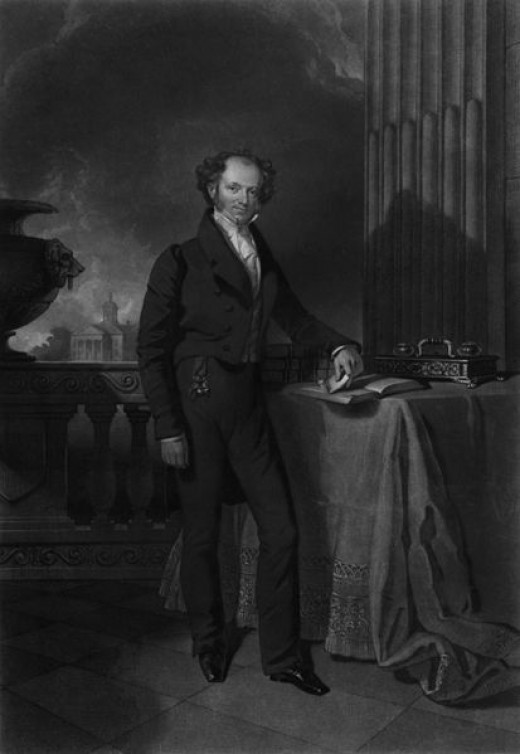 Portrait of Martin Van Buren engraved by John Sartain and later painted by Henry Inman