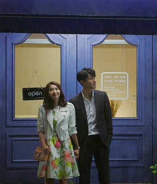 Pan Seok and Sa Kyung's cute date
