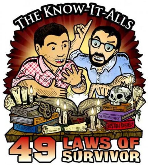 The 49 Laws of Survivor audiobook.
