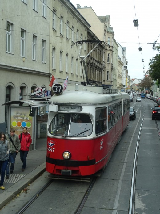 The retro-tram model