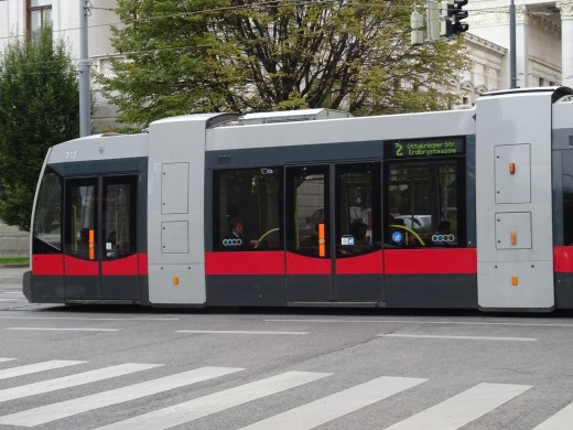 This tram style looks like a pop-up toaster