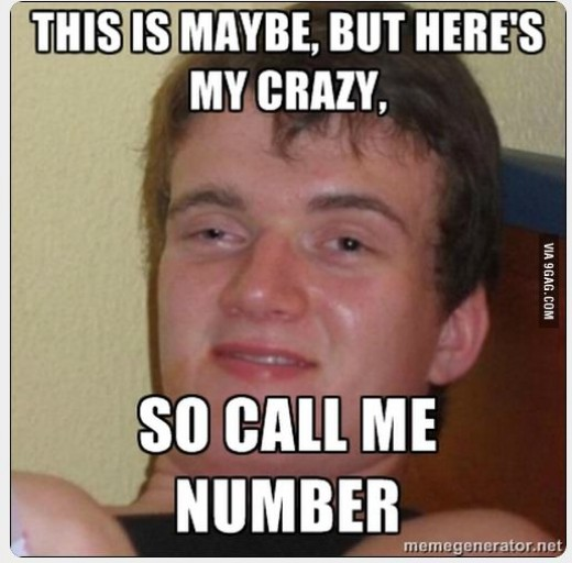 Call him maybe?