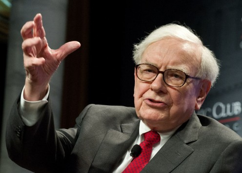 Billionaire Warren Buffet