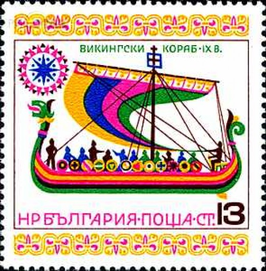 Bulgarian stamp features detail from the tapestry