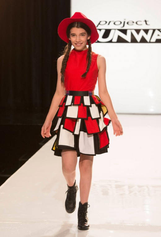 Korina Emmerich's Josephina inspired look