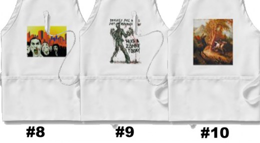 #8 - #10 aprons be sure to vote