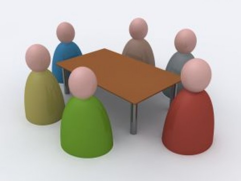 There were six at the meeting