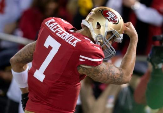 San Francisco 49ers QB Colin Kaepernick