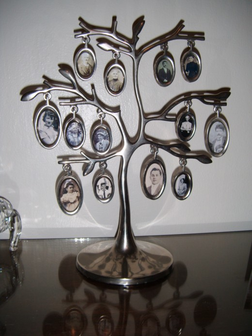 Family Tree Desk Top And Collage Wall Photo Frames A Gift