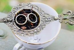 Tea themed ring bearer idea