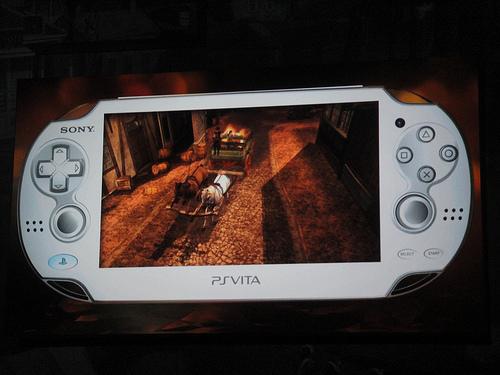 Sony PS Vita Gameplay