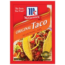McCormick taco seasoning packet