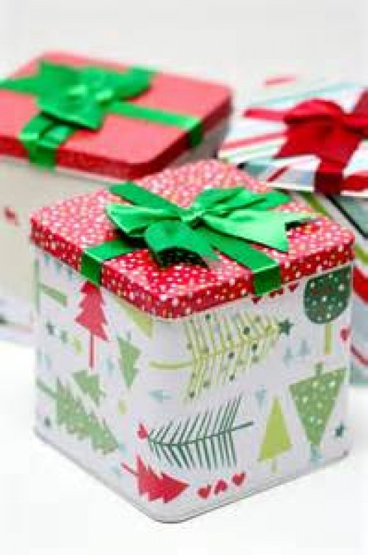 Holiday Cookie Gift Tins