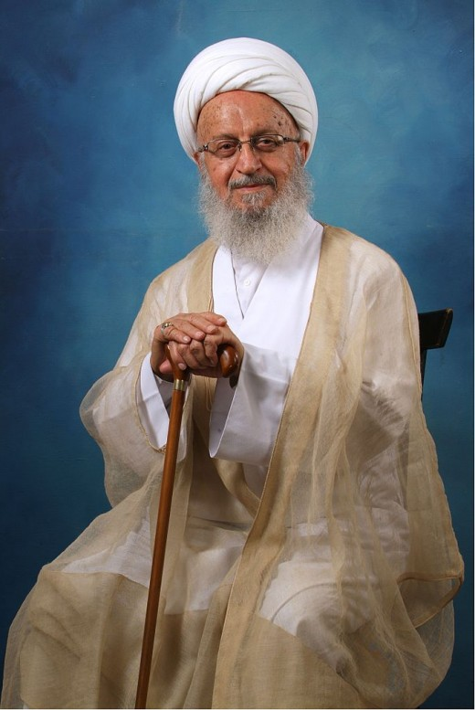 Grand Ayatollah Naser Makarem Shirazi, Muslim Cleric from Iran