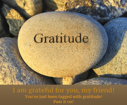 Share this photo to show your friends how grateful you are for them!