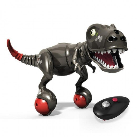 Onyx Zoomer Dino with Tin Storage Case