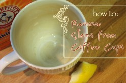 Quickly and Easily Remove Stains From Coffee Mugs