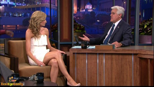 Erin Andrews on The Tonight Show with Jay Leno