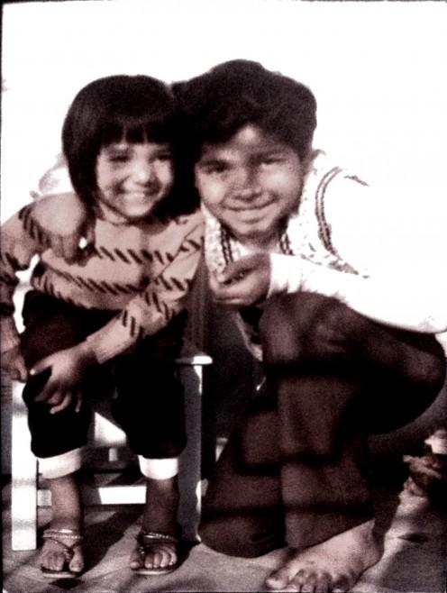 My first cousin Bappada.