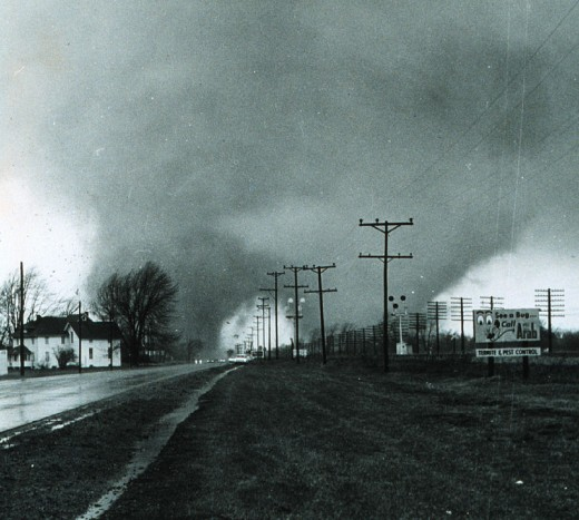 Indiana's spring weather can be deadly, like the 1965 Palm Sunday tornadoes