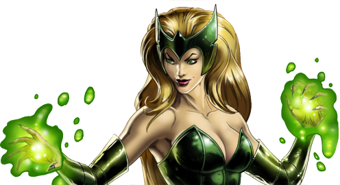"""You have now incurred the wrath of Amora the Enchantress!"""