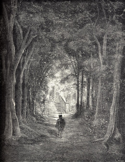 Sleeping Beauty in the Woods by Gustave Dore
