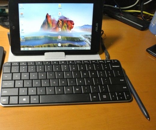 The ASUS VivoTab Note 8 which runs Windows 8.1.