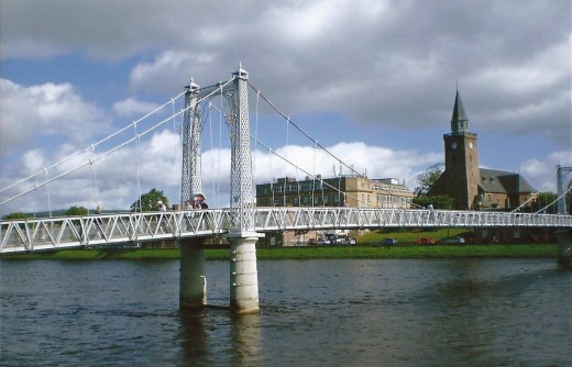 Inverness, gateway to the higlands, Scotland