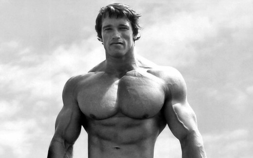 Arnold Schwartzengger, bodybuilder, actor, governor and terminator (of marriages)