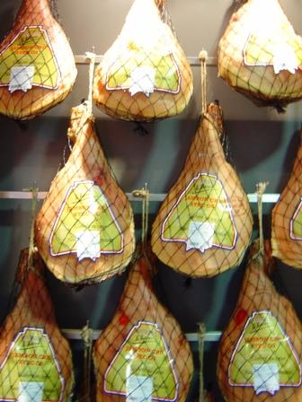 Hams at Andreieux's Saint Mathieu