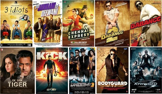 Most Successful Bollywood films - High budget