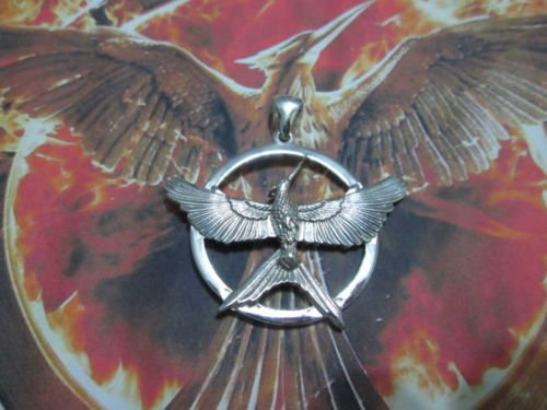 Italian Sterling Silver Mockingjay Pin
