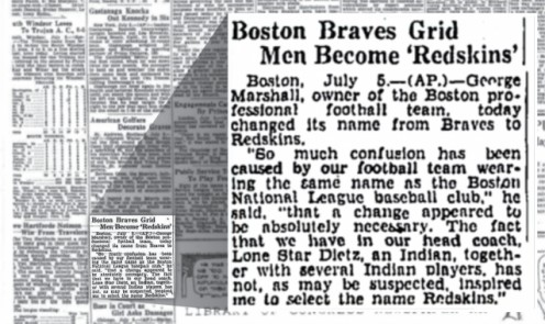 News article 82 years ago