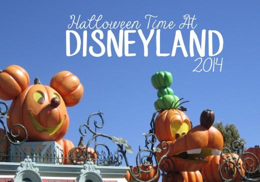 Halloween Time at Disneyland 2014